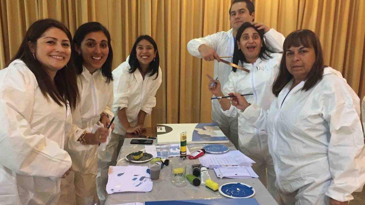 the big picture cooperative team building activity catalyst chile