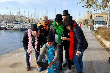 Escape game from the mob in malta