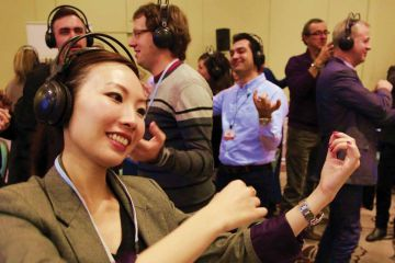sound crowd active team building fun activity