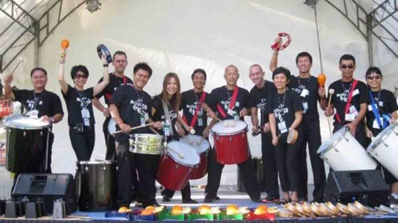 beatswork rocks the f1 grand pix in Singapore