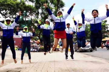 go team team building dalat catalyst vietnam