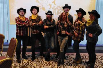 themed fun team building business game