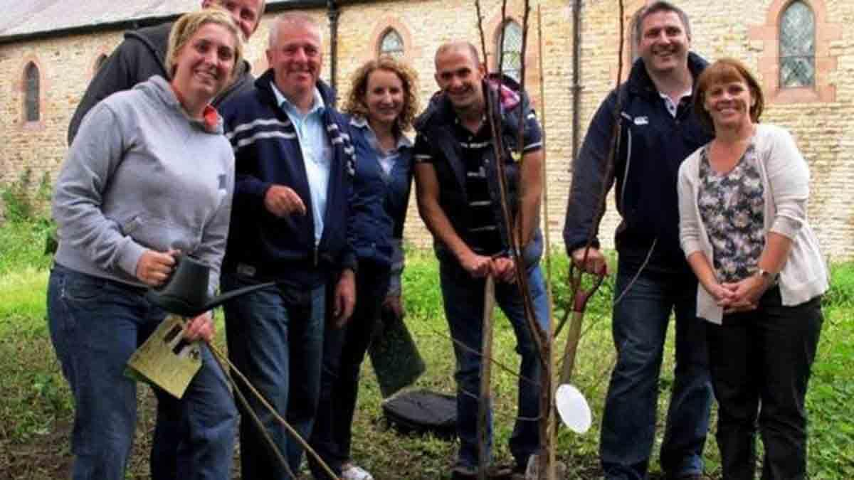 tree planting in liverpool