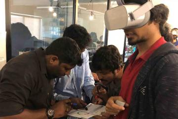 virtual reality business game catalyst india