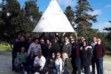 creative team building activity catalyst malta