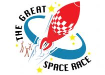 the great space race logo
