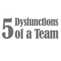 five disfunctions of a team logo