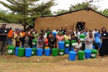 Group receiving supply of waterworks