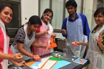 creative artistic team building india