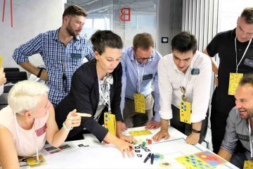 team building simulation business game