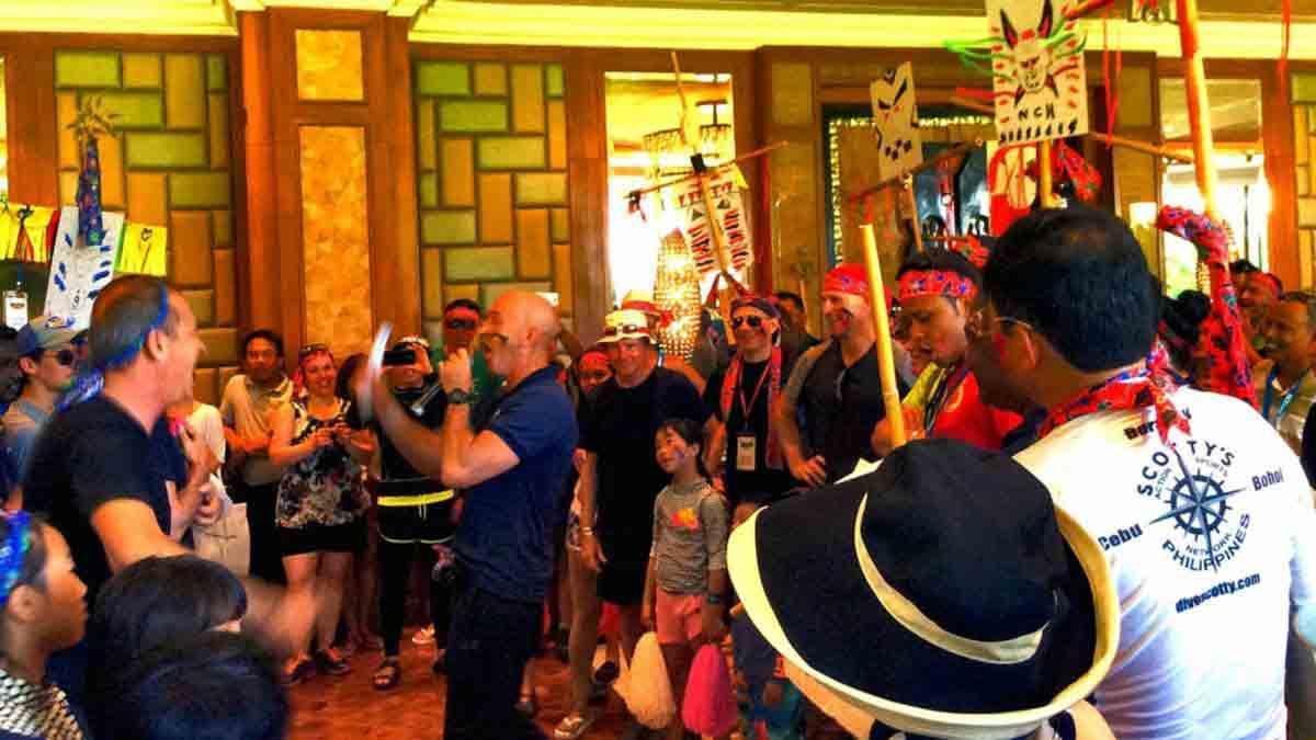 Two Tribes At Shangri-La's Mactan Resort & Spa - 200 Delegates Multinational Corporation
