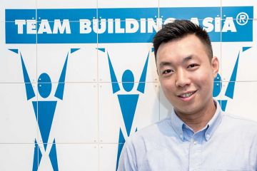Kelvin Wong team building asia