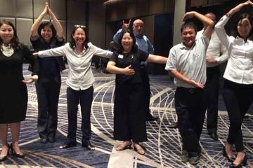 Go team Indoors challenging team building