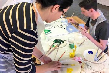 artistic team building activity catalyst uk