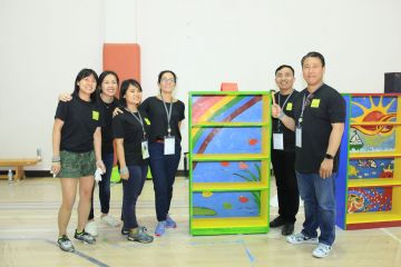 charity program for corporate team building