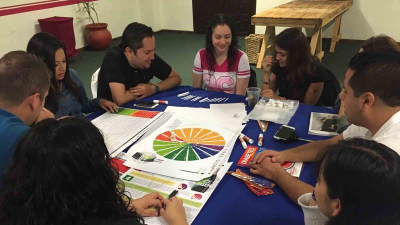 creative collaborative team building