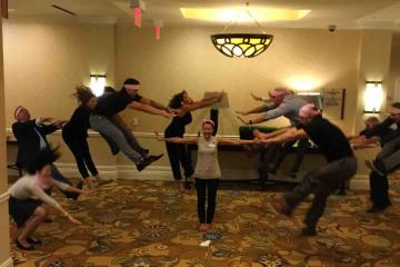 fun competitive activity team building USA