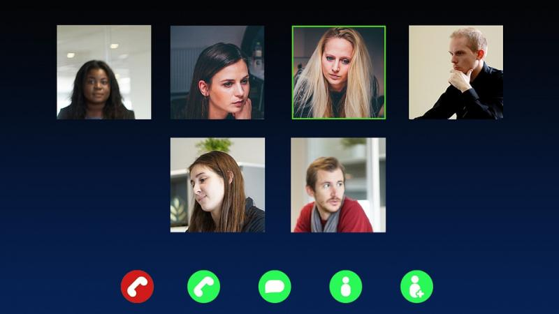 video call team