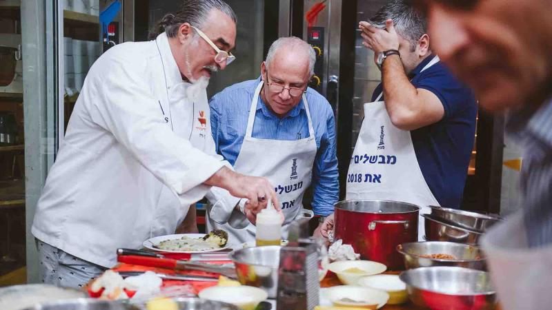top chef culinary team building activity catalyst israel
