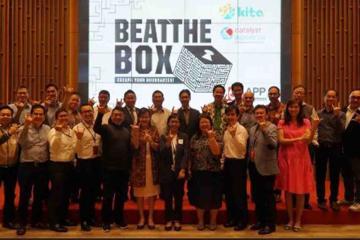 beat the box team building activity catalyst indonesia