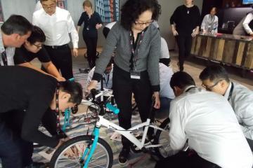 social corporate responsibility team building