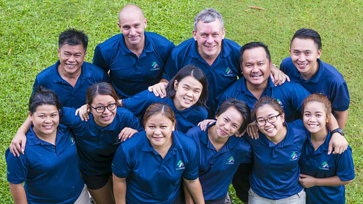 Asia Ability team building