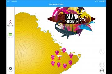 Island Survivor App Screen