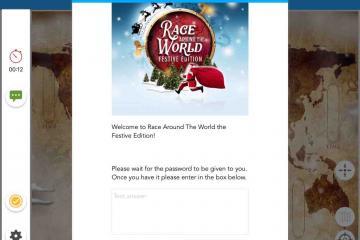 Race Around the World - Festive