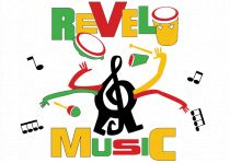 revel music logo