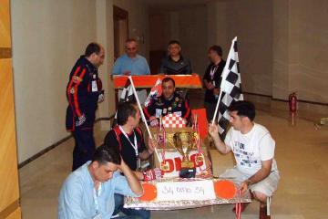flat ot formula one team building Turkey