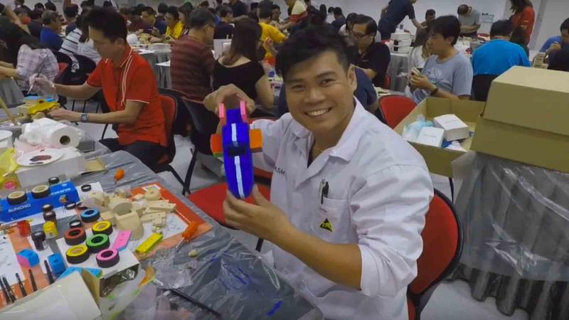 toy factory social responsibility team building
