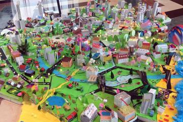 city build creative team building activity catalyst ireland