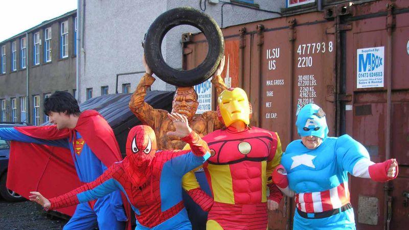 Blockbusters movie making teambuilding