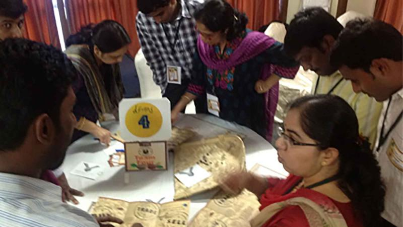 coffee themed business game team building india