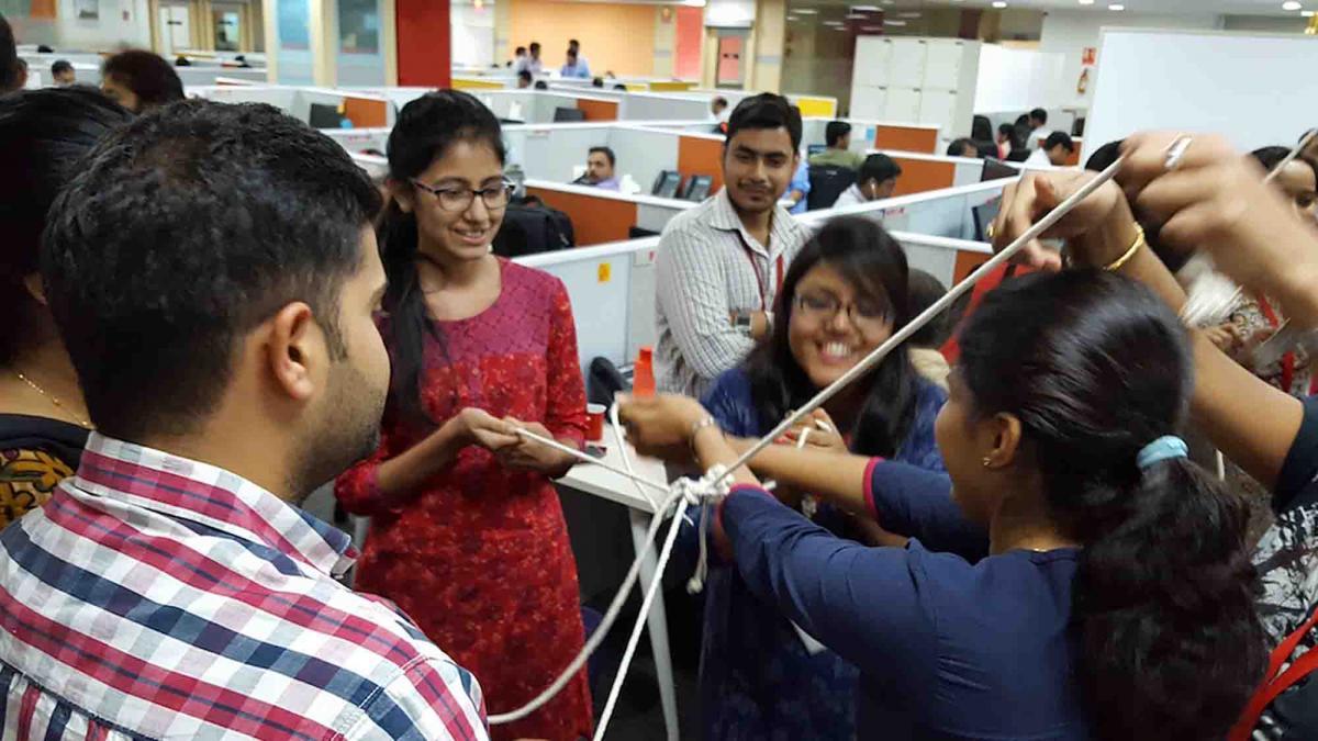 collaboration team building India