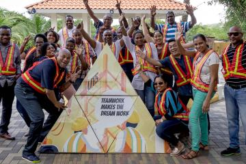 innovative and creative activity team building Curacao
