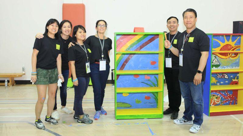 Bookworx  creative collaborative team building activity