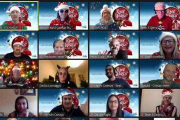 festive themed team building