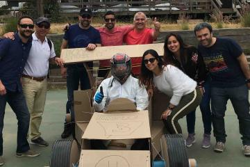 flat out formula one creative team building catalyst chile