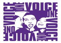 one voice logo