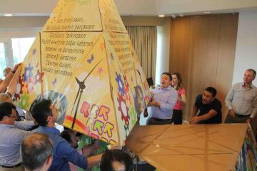 flat out pyramid puzzle team building Turkey