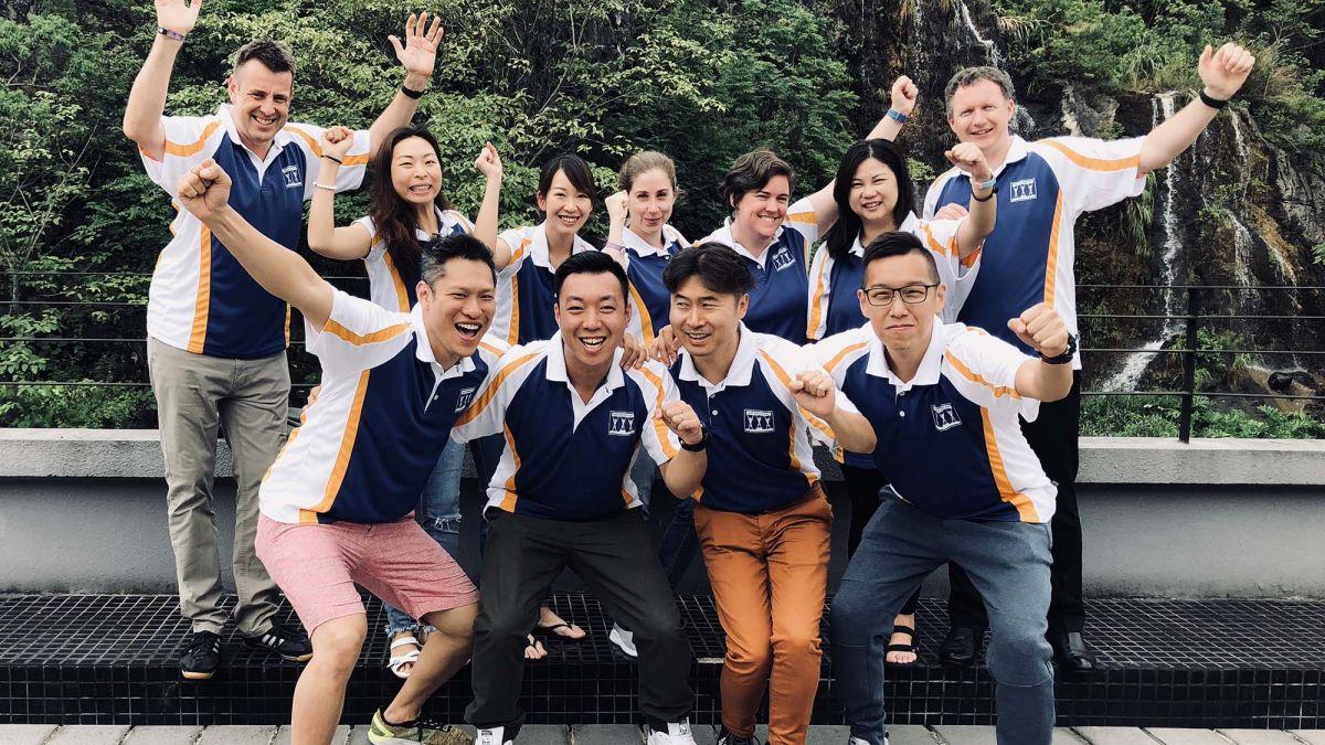 Team building asia