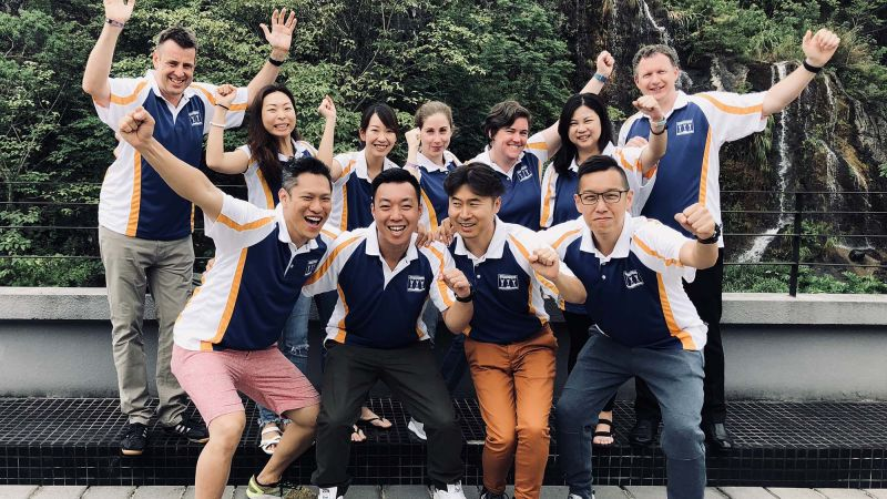 Catalyst China Team Building Asia