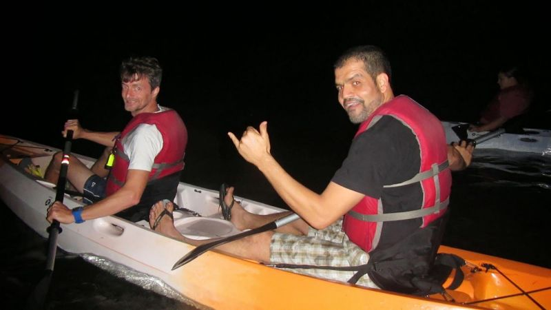 Midnight Kayaking Wekiva River System