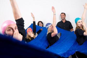 sync or swim fun team building activity