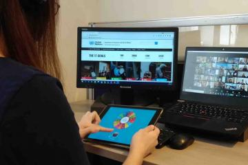 online impact team building