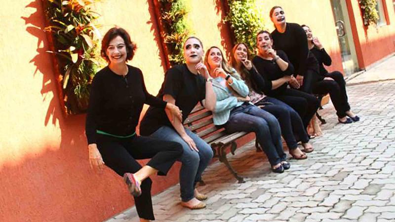 urban circus team building activity Brazil