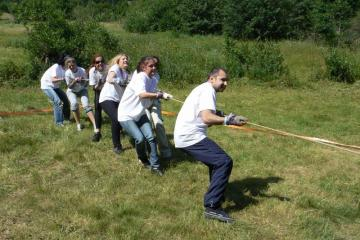 two tribes indigenous games team building two tribes