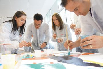 the big picture creative team building program