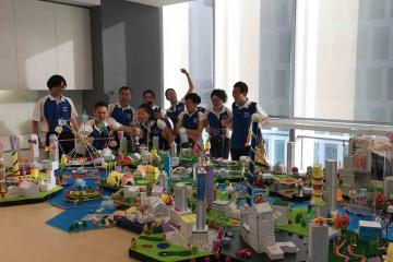 city build creative activity team building asia